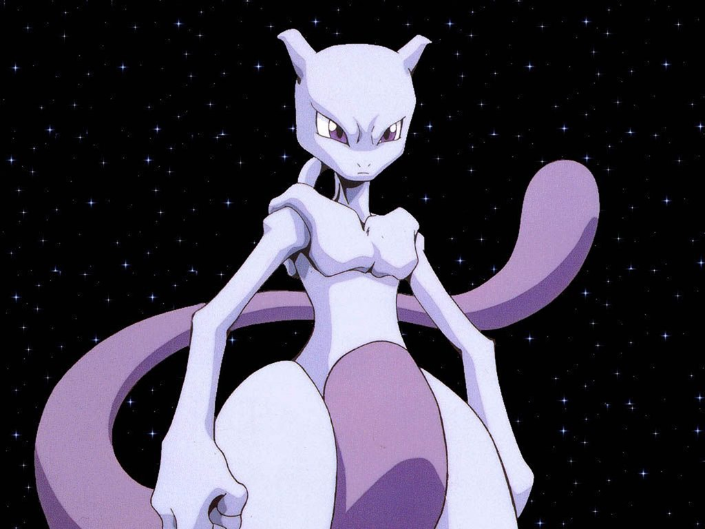 Best Psychic Pokemon - MewTwo